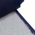 Polyester net, grain size: 4mm, DARK BLUE