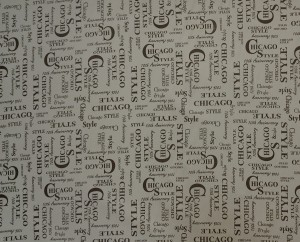Printed fabric polyester PVC - D18